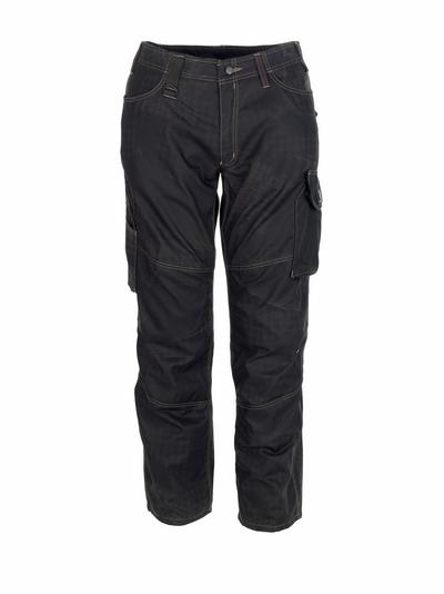 MASCOT® Ovar - Noir avec impressions* - Pantalon