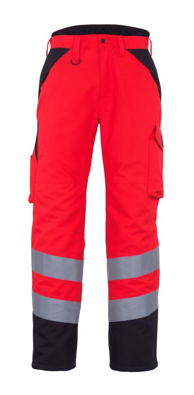 MASCOT® Palmela - Hi-vis rouge/Anthracite foncé* - Pantalon grand froid