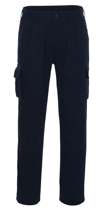 MASCOT® Pasadena - Marine - Pantalon avec poches genouillères, poids léger