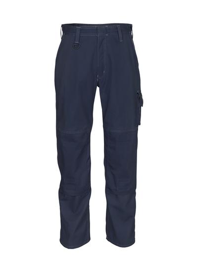 MASCOT® Pittsburgh - Marine foncé - Pantalon avec poches genouillères, poids léger