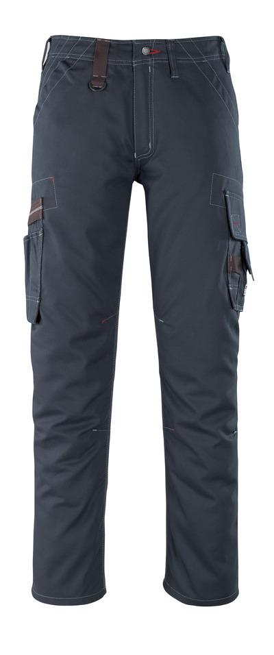 MASCOT® Rhodos - Marine foncé - Pantalon avec poches cuisse, poids léger
