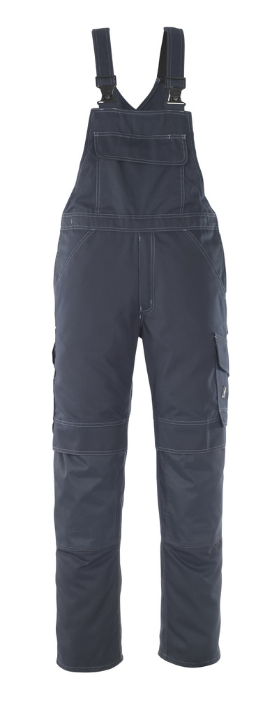 MASCOT® Richmond - Marine foncé - Salopette avec poches genouillères, poids léger