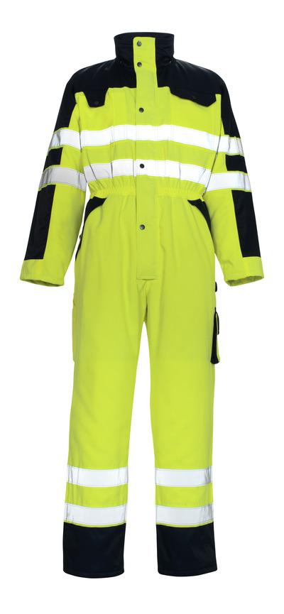 MASCOT® Riva - Hi-vis jaune/Marine* - Combinaison grand froid