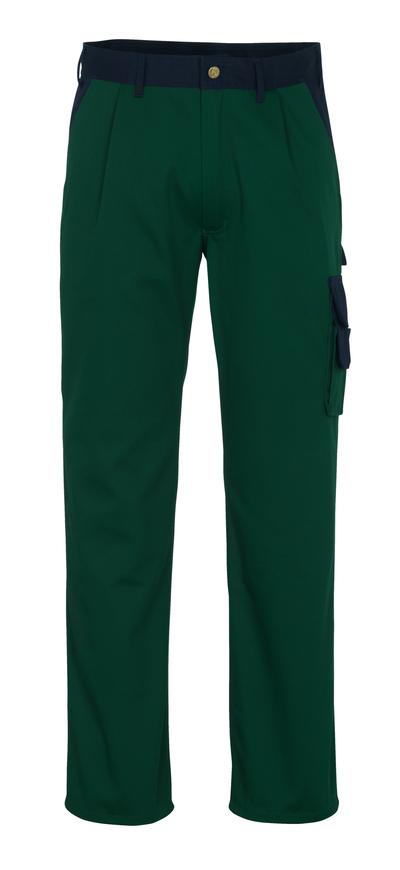MASCOT® Salerno - Vert bouteille/Marine* - Pantalon, haute solidité