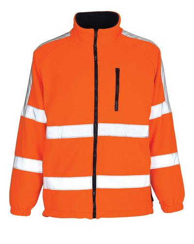 MASCOT® Salzburg - Hi-vis orange - Veste polaire avec doublure coupe-vent, classe 3