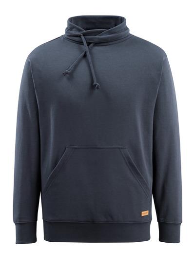 MASCOT® Soho - Marine foncé - Sweatshirt à col montant, coupe moderne