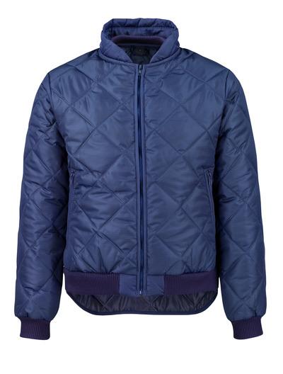 MASCOT® Sudbury - Marine - Veste thermique avec poches frontales à fermeture zippée