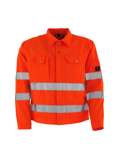 MASCOT® Texas - Hi-vis orange* - Veste, haute solidité, classe 2/2