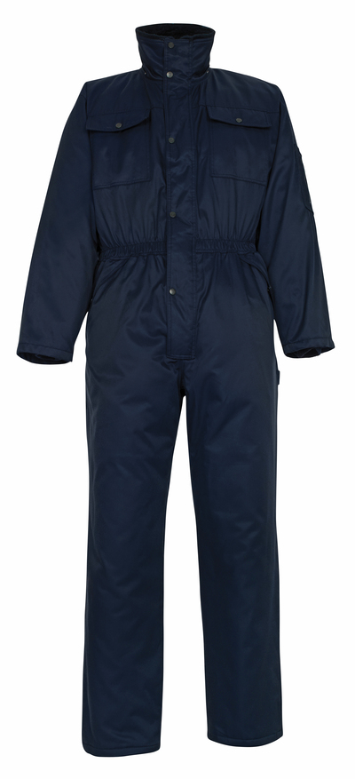 MASCOT® Thule - Marine - Combinaison grand froid avec doublure en fourrure synthétique, en Bearnylon® hydrofuge
