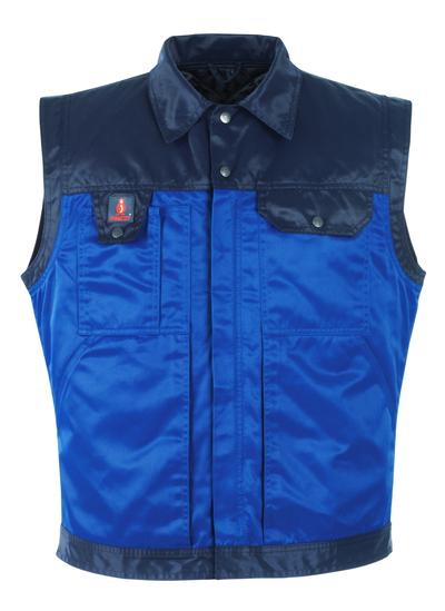 MASCOT® Trento - Bleu roi/Marine - Gilet grand froid avec doublure matelassée amovible, hydrofuge