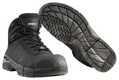 MASCOT® Trivor - Noir - Brodequin de sécurité S3 à lacets