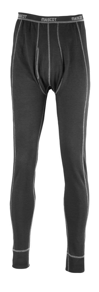 MASCOT® Vigo - Noir - Caleçon long, évacuant l'humidité, isolant