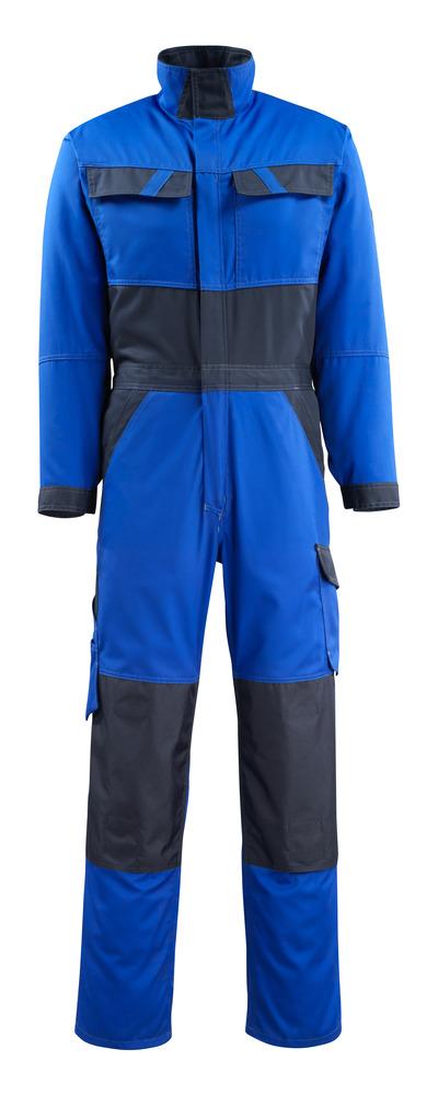 MASCOT® Wallan - Bleu roi/Marine foncé - Combinaison avec poches genouillères, poids léger