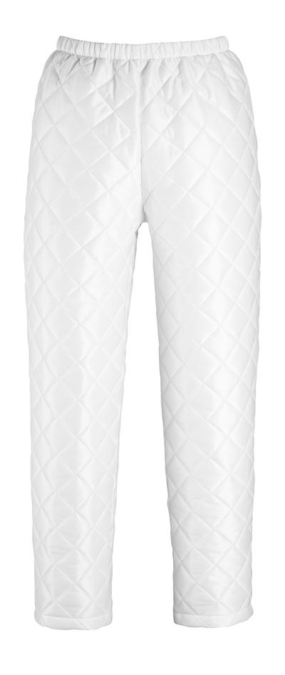 MASCOT® Winnipeg - Blanc - Pantalon thermique avec boutons-pression aux chevilles