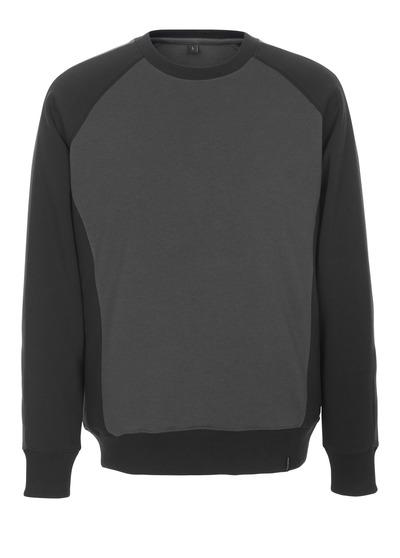 MASCOT® Witten - Anthracite foncé/Noir - Sweatshirt, coupe moderne