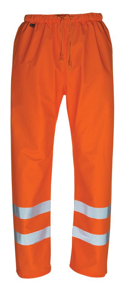 MASCOT® Wolfsberg - Hi-vis orange - Pantalon de pluie, coupe-vent et imperméable, classe 1